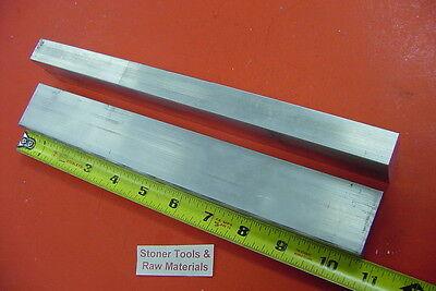 2 Pieces 34 X 1-12 Aluminum 6061 Flat Bar 10.5 Long Mill Stock .75x 1.5