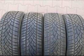 Dunlop winter all season Tyres 265/40/20 set 4