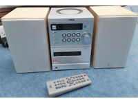 Sony Aiwa CD, Tape, Radio Player with Remote Control & Two Speakers. Model: CX-LEM200, SX-LEM200