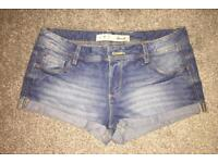 Brand New Denim Shorts size 8