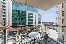 Stunning one double bedroom property located in the sought after development of St George Wharf.