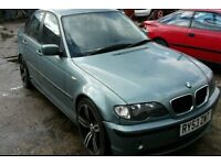 BREAKING BMW E46 320D SE 2.0 147BHP 2003 SALOON MOST PARTS AVAILABLE 105k MILES