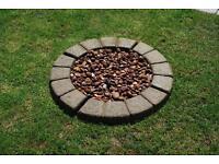 3ft Cobble effect planter circle