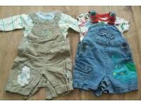 Baby boy summer clothing bundle 0-3 mths