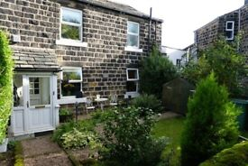 Spacious 1 bed cottage for rent; tucked away yet close to Horsforth train station & amenities