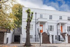 Four double bedroom house to let with a private garden in West Brompton.