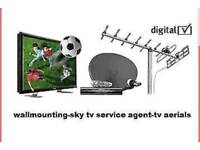 Lanarkshire TV Aerial and TV WALL MOUNTING