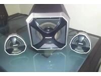 Audio Speakers with super woofer.