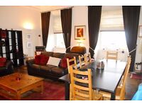 Large 2 bedroom flat in B listed building