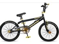 Bmx rooster attitude black and gold