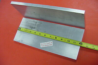 2 Pieces 12 X 6 Aluminum 6061 Flat Bar 12 Long .500 Plate Mill Stock Solid