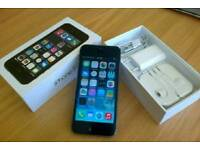 Iphone 5s 16g grey and black brand new in box