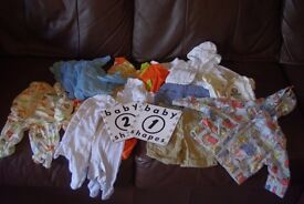 Newborn/tiny baby bundle 0-1 month