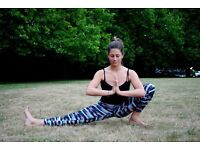 private yoga classes in london from the comfort of your own home