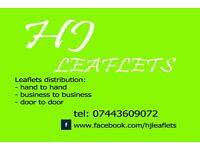 LEAFLET DISTRIBUTION/ LEAFLET DISTRIBUTOR