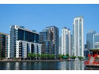 ONE bedroom flat in MILLHARBOUR, 24hr porter, HEATING, HOT WATER INCLUDED, walk to CANARY WHARF