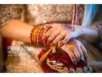 Asian Wedding Photographer Videographer cinematographer Sikh Hindu Pakistani & Bengali weddings