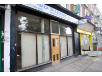 Great double fronted A1 usage retail unit in NW6
