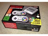 Nintendo Classic SNES Mini Console 21 games new condition