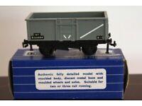 Hornby-Dublo 32057 SD6 16-Ton Mineral Wagon B.R. in BR Grey 16T B54884 8-0