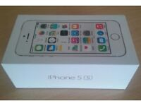 New iphone 5s BOX ONLY original