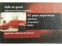 Upholstery and removal service