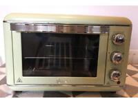 Swan 23L Retro Electric Oven- Mint Green
