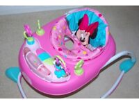 Disney Baby Minnie Mouse Bows and Butterflies Baby Walker