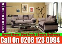 BEST LOOKING JUMBO CORD SOFA CORNER BROWN AND BEIGE SOFA ALSO 3 AND 2 SEAT Ogden