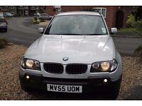 BMW X3 D SPORT 2 LITRE DIESEL 2005 FULL MOT FULL SERVICE HISTORY 131k LOVELY CAR £4295