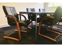Executive Charcoal Grey Chairs