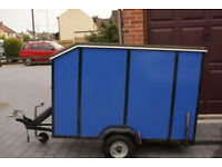 Box trailer for sale. All in good order, everything works as it should..