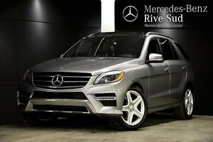 2014 Mercedes-Benz M-Class ML550 4MATIC, Cuir Brun, Hitch