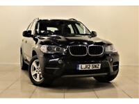 BMW X5 3.0 XDRIVE30D SE 5d AUTO 241 BHP SAT/NAV + LEATHER (black) 2012