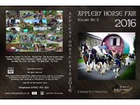 APPLEBY HORSE FAIR 2016 - DOUBLE DVD - 175 minutes