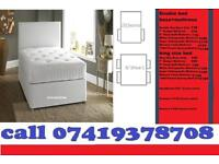 A ONE King SIZE DI:V:AN Bed Frame And Mattresses