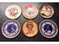 Job lot of collectable plates