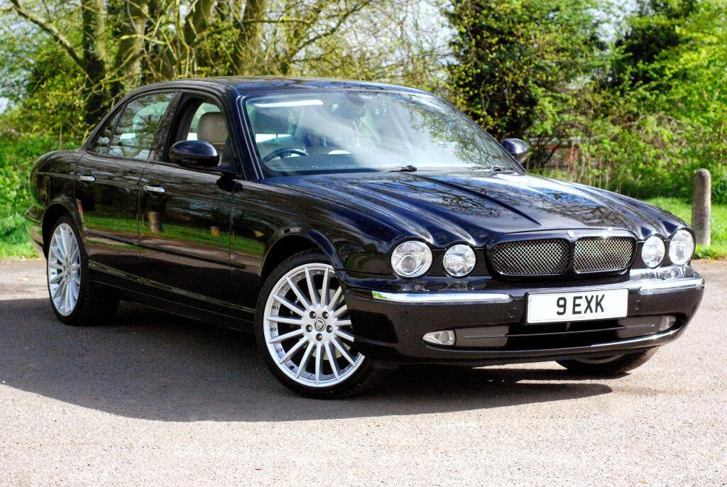 2004 Jaguar XJ8   Petrol 3.5L V8   X350 Black   Sat Nav   20