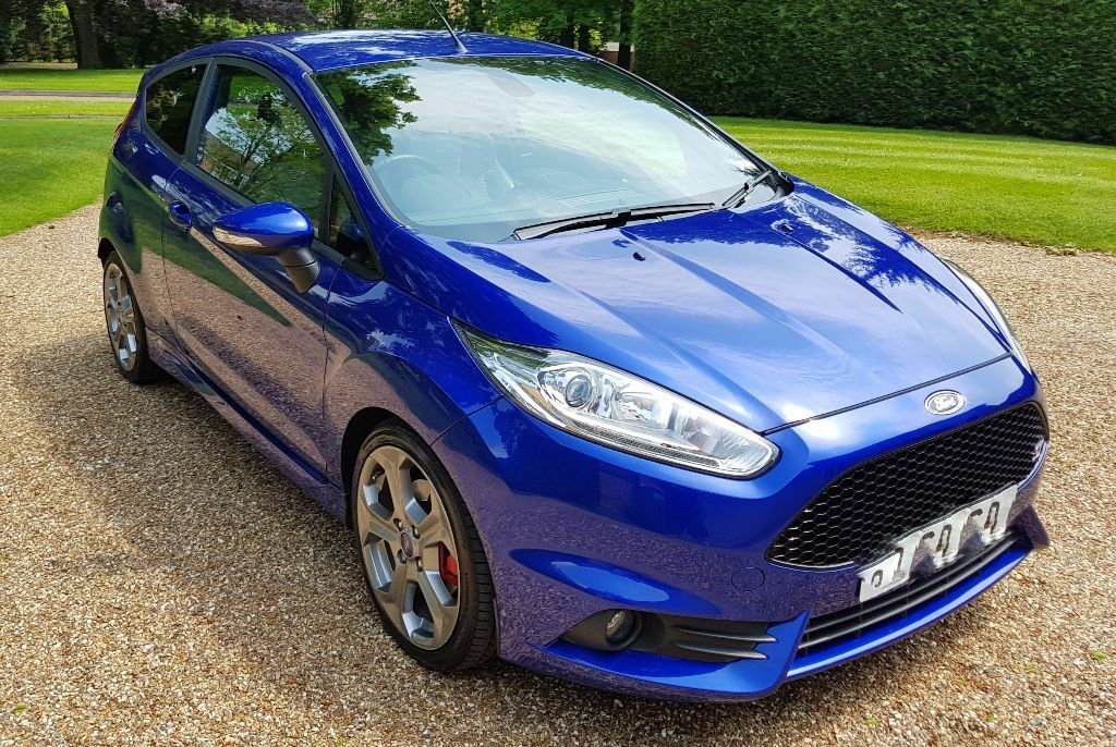 First Post, I purchased a 2016 Ford Fiesta ST in Kona Blue