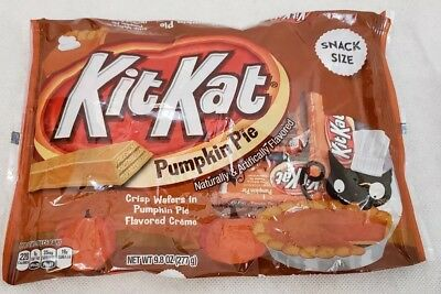 Kit Kat KitKat Pumpkin Pie Wafers Candy Snack Size 9.8 Oz Fresh Exp 7/2019