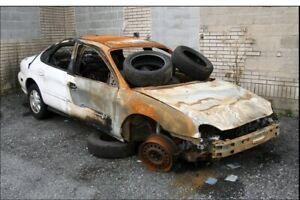 Buying any condition unwanted vehicle junk scrap broken or rusty
