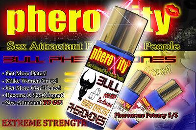 BLACK FRIDAY SALE !BULL Pheromone für MÄNNER +STRONG SPRAY 💋 2x SEXLOCKSTOFF 💋