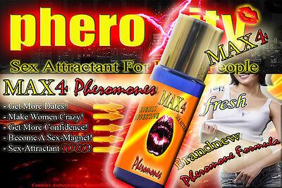 ANGEBOT ★pheroXity MAX4 SEXLOCKSTOFF ★ Pheromone für MÄNNER ✔★ BLACK FRIDAY