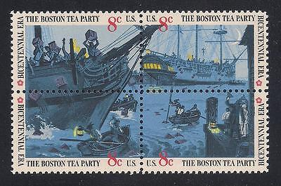 BOSTON TEA PARTY - U.S. POSTAGE STAMPS - MINT - Party Postage Stamp