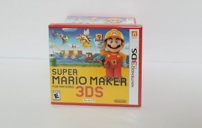 Super Mario Maker (Nintendo 3DS 2DS) NEW FACTORY SEALED - Authentic Video Game