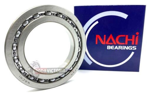 NACHI JAPAN  16011 Deep Groove Ball Bearings 55x90x11mm. (OPEN, NO SEALS)