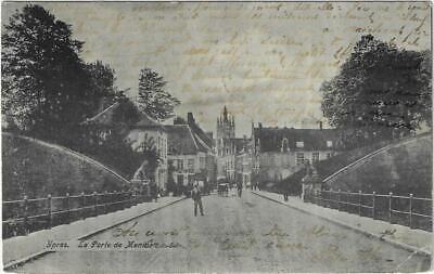 Ieper Ypres la porte de Menin 1907 Voor Wereldoorlog I