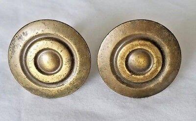 "2 Tropical Fish Brass Knobs Pulls Handles Ocean Beach Seaside Hardware 2/"" #K11"