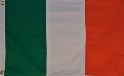 SEWN COTTON 2X3 IRELAND NATIONAL FLAG - IRISH - ORANGE GREEN WHITE