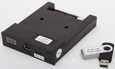 Floppy Drive To Usb Upgrade Kit Emulator For Mazak Fusion 640 Vertical Mill 410a